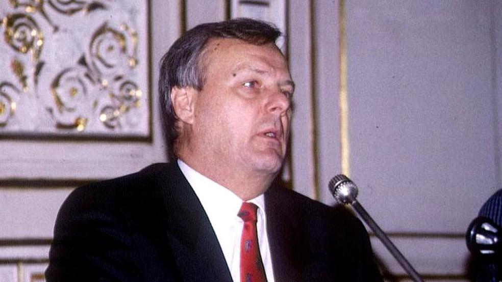 Anatoly Sobchak foi prefeito de São Petersburgo entre 1991 e 1996 (Foto: BBC)