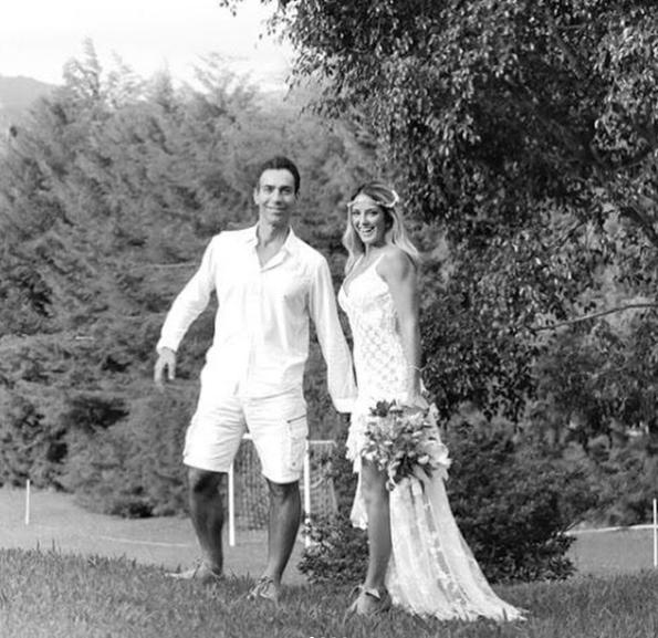 Tici Pinheiro e César Tralli (Foto: Reprodução)