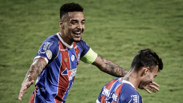 Bahia virou o jogo com o gol de Zeca, no segundo tempo