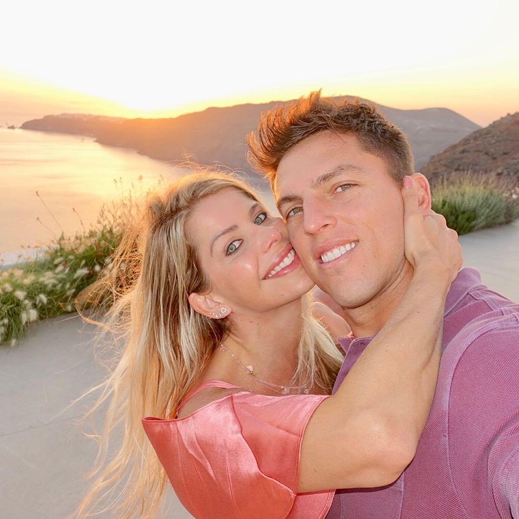 Karina Bacchi e Amaury Nunes  (Foto: Reprodução / Instagram)
