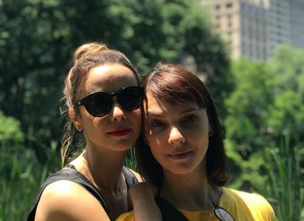 Débora Falabella e Cynthia Falabella (Foto: Reprodução Instagram)