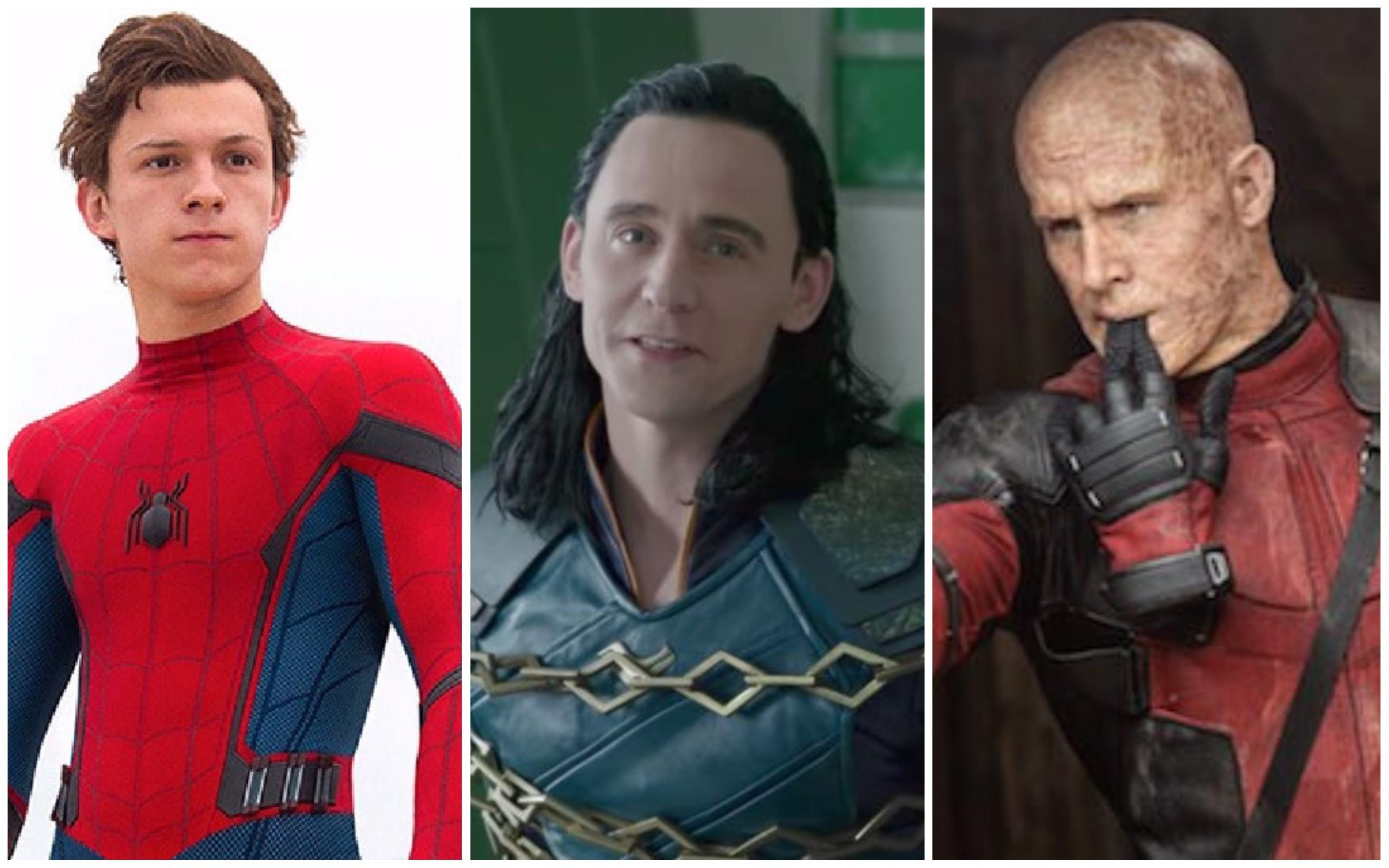 Peter Parker, Loki e Wade / Marvel  (Foto: Divulgação)