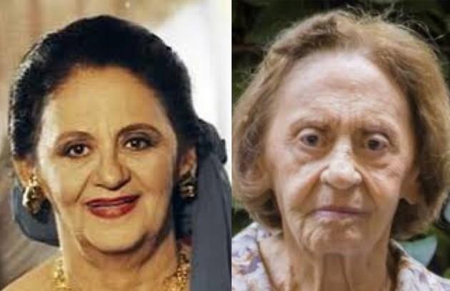Veterana da TV brasileira, Laura Cardoso viveu Soraya, matriarca da família do cigano Igor. O trabalho mais recente da atriz foi em 'A dona do pedaço' (2019) (Foto: TV Globo)