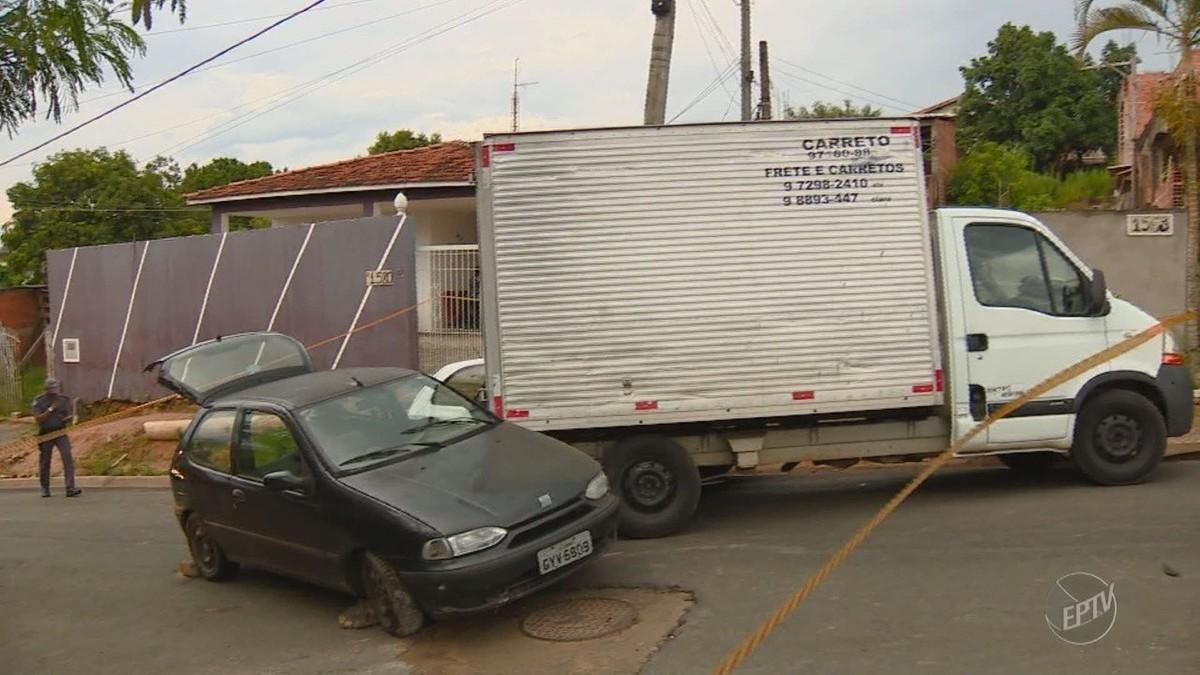 Tentativa de furto termina com acidente e dois feridos em Campinas