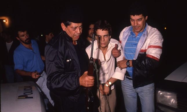 Bandido é preso após assalto a banco e sequestro em Teresópolis, em 1988