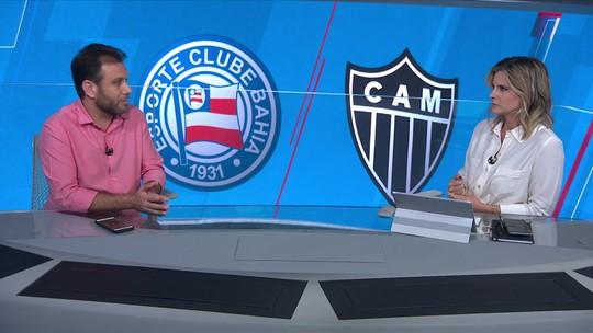 Em queda de rendimento no segundo turno, Bahia e Atlético-MG se enfrentam nesta quarta-feira