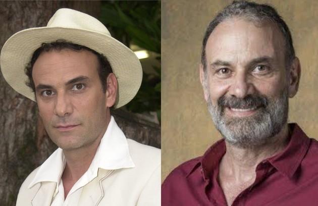 """Escalado para """"Um lugar ao Sol"""", Marco Ricca foi Celso, irmão do ditador Camacho, que assumiu o país após o suposto assassinato dele (Foto: TV Globo)"""