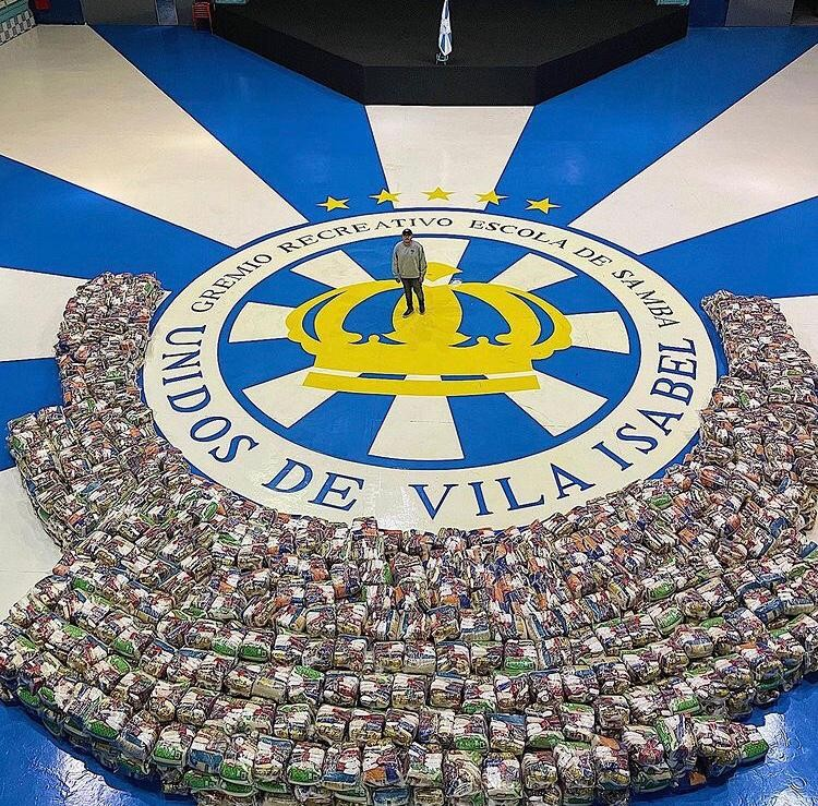 Vila Isabel faz a ação social desde o ano passado