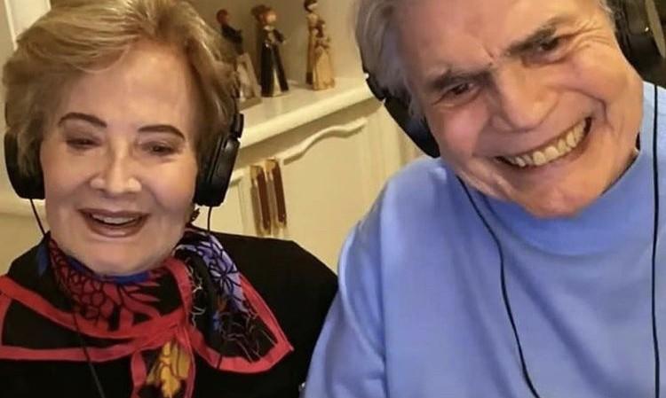 Glória Menezes e Tarcísio Meira  (Foto: Reprodução)