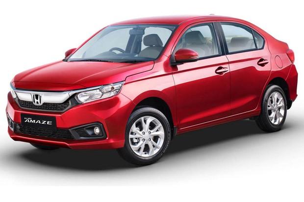 Honda Amaze tem estilo frontal que imita o novo Civic (Foto: Divulgação)