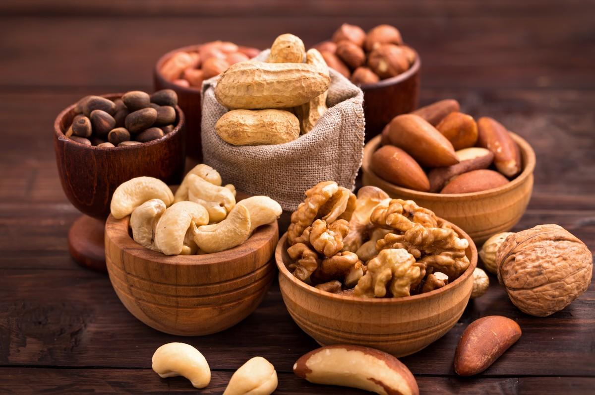 Castanhas, nozes, amendoim, avelã... Conheça os benefícios das oleaginosas  | nutrição | ge