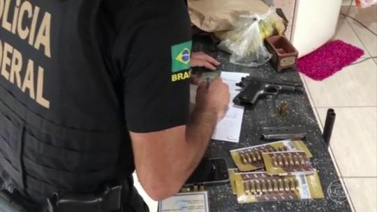 PF prende suspeitos de vender armas para facções criminosas e garimpos ilegais