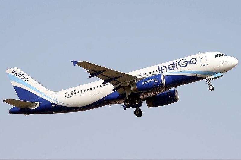 O voo foi realizado pela empresa indiana IndiGo (Foto: Divulgação)