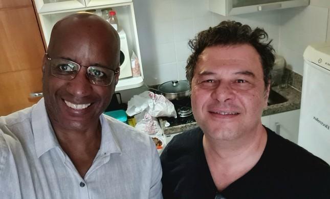 Sergio Camargo e Marcos Petrucelli