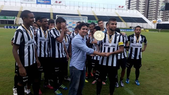 ABC vence o Alecrim e conquista Metropolitano de Futebol União (Foto: Andrei Torres/ABC FC/Divulgação)