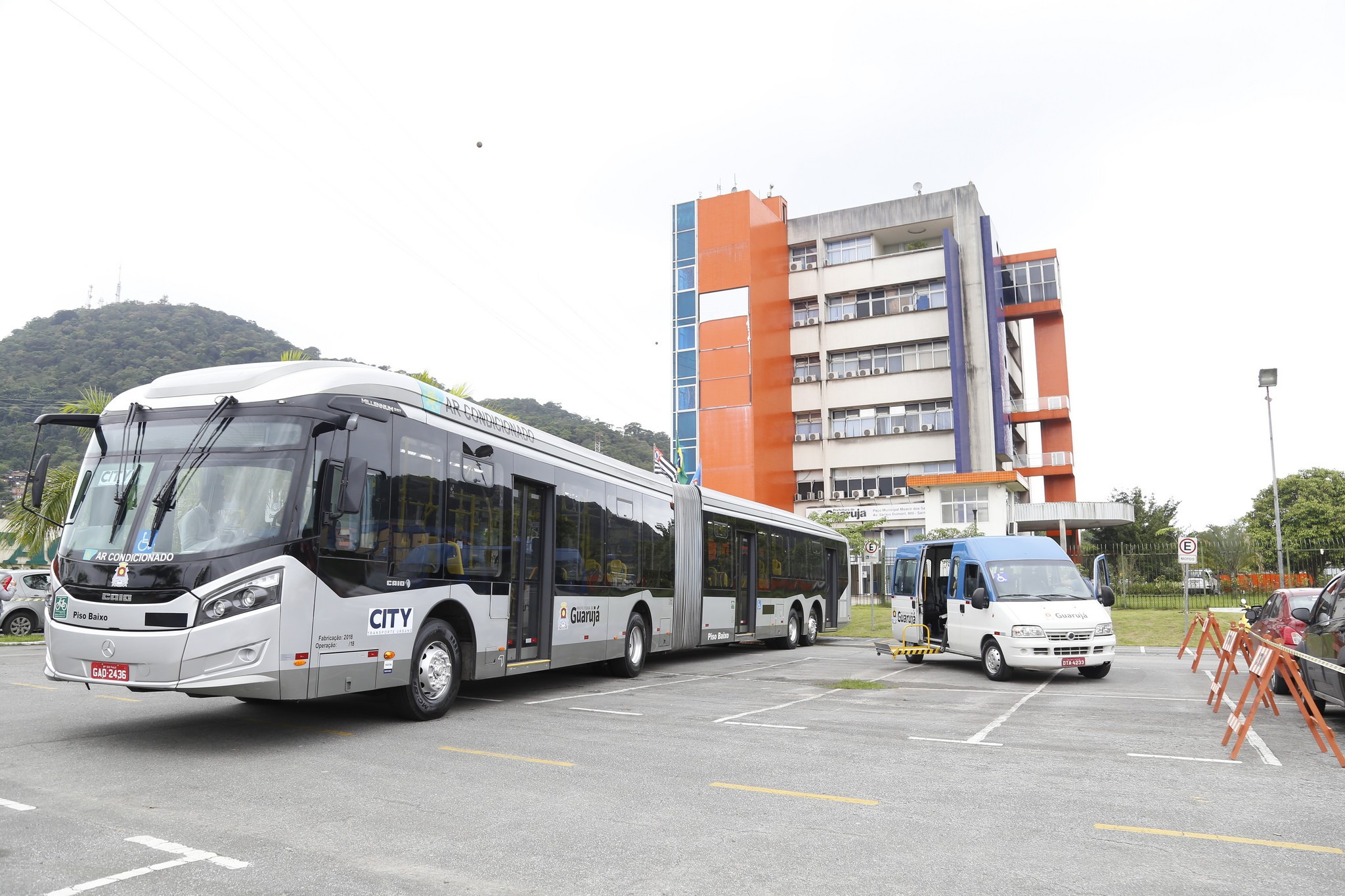 Guarujá antecipa início de empresa de transporte municipal para fevereiro - Noticias