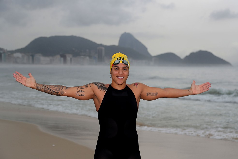 Ana Marcela Cunha Rei e Rainha do Mar (Foto: Satiro Sodré/SSPress/Effect Sport)