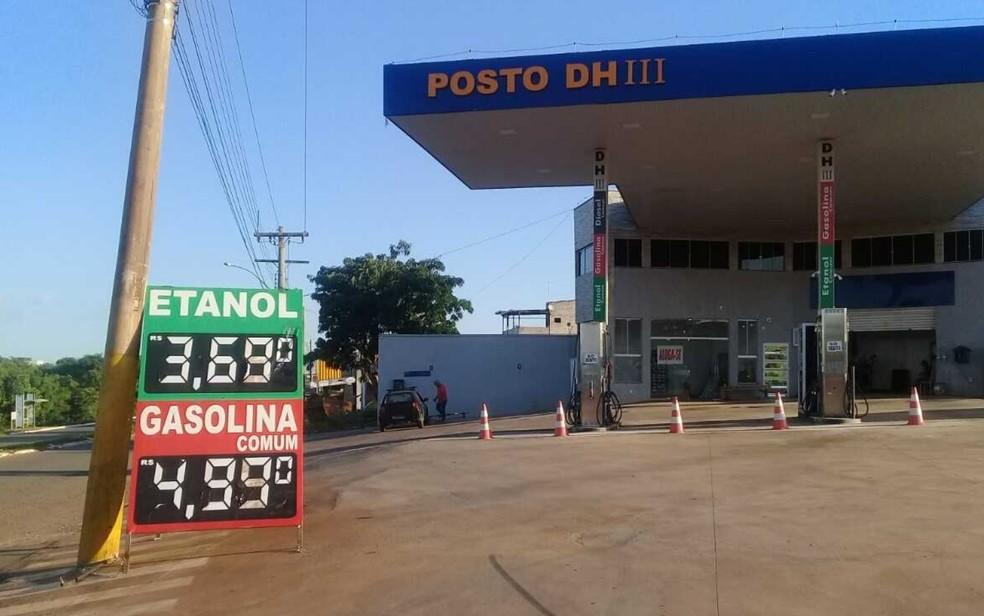 Preço dos combustíveis no ano passado motivaram ações para limite dos lucros (Foto: Nelson Gomes/TV Anhanguera)
