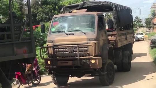 Forças Armadas fazem ação em presídio que teve rebelião domingo