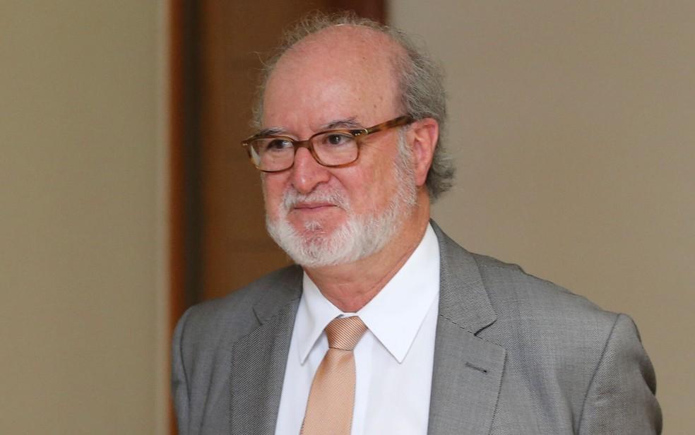 O ex-governador de MG Eduardo Azeredo em imagem de dezembro de 2017 (Foto: Dida Sampaio/Estadão Conteúdo)