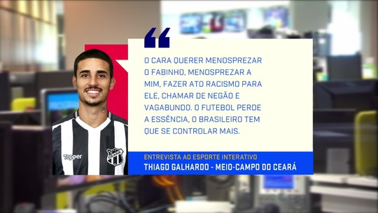 Jornalistas comentam ato de racismo praticado por torcedores do Santos e relatado por jogador do Ceará