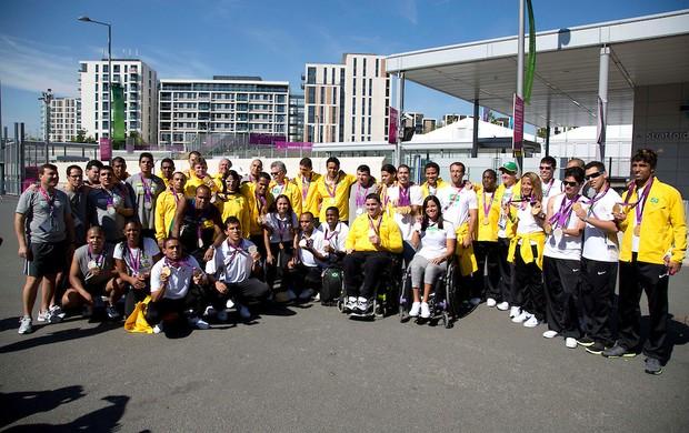 Paralimpíadas medalhistas Brasil (Foto: Fernando Maia/CPB)