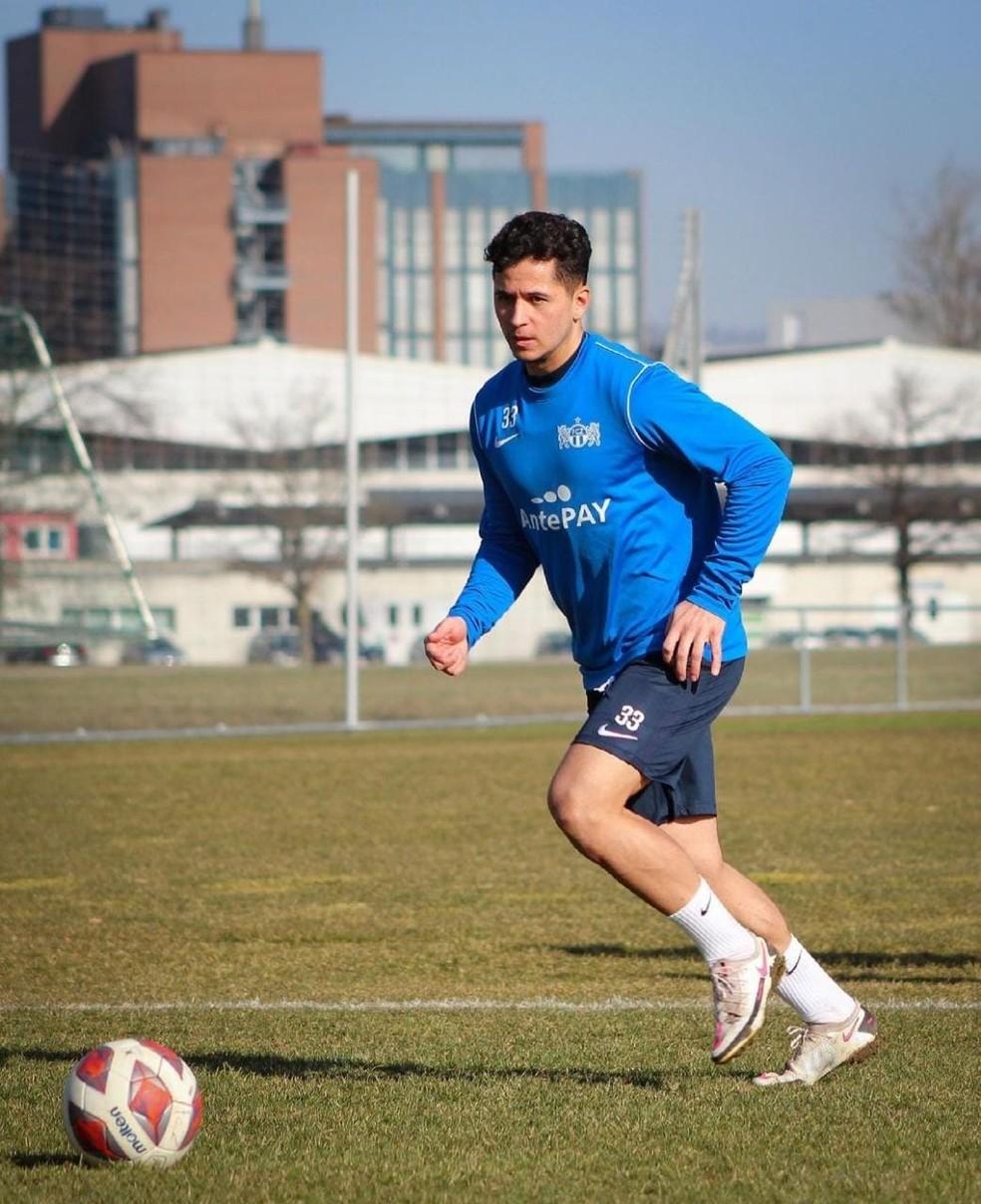 Stephan Seiler treinando no Zurich — Foto: Divulgação/Zurich
