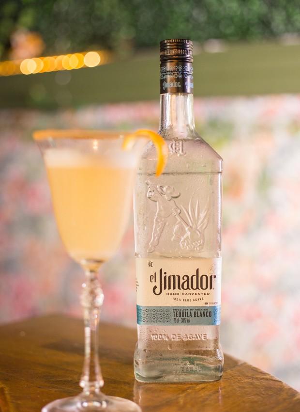 Receita de drinque El Jima Sour, compartilhada por Bertone Mancini, brand advocacy de Jack Daniel's e el Jimador (Foto: Divulgação )