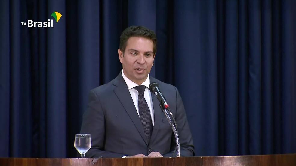 O delegado Alexandre Ramagem teve a nomeação para a direção da PF suspensa pelo ministro Alexandre de Moraes, do STF — Foto: Reprodução