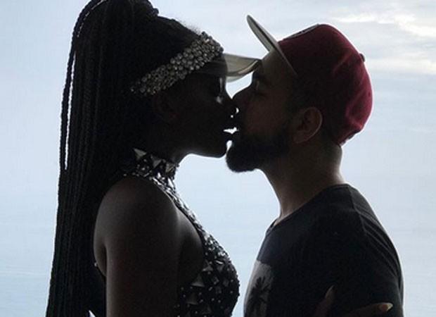 Iza e namorado (Foto: Reprodução)