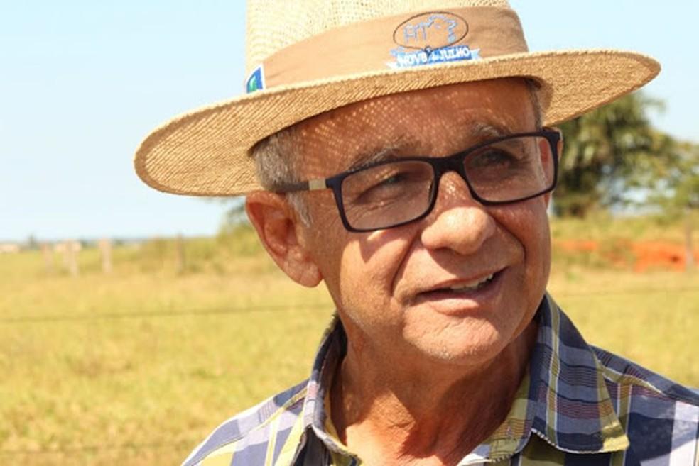 Aldo Rezende Telles, pecuarista de Mato Grosso e presidente da Associação dos Criadores Nelore de Mato Grosso (ACNMT) — Foto: Arquivo pessoal