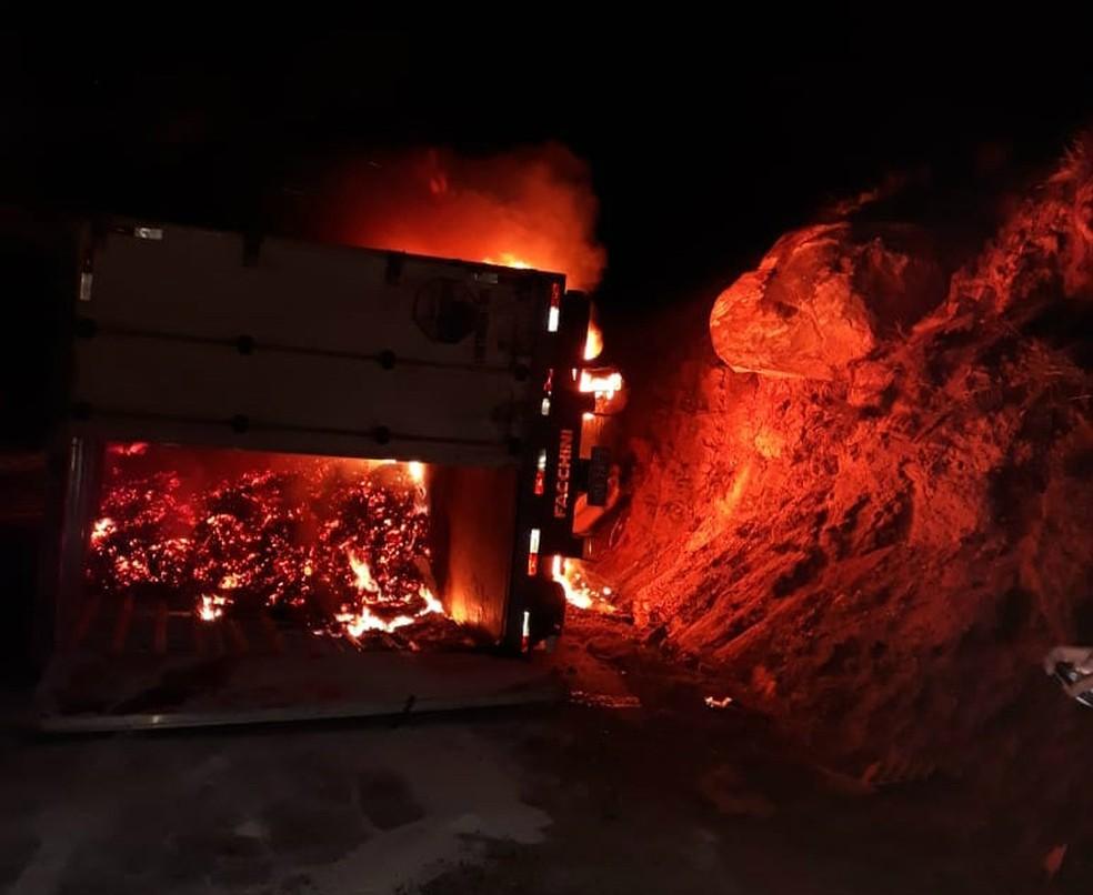 Por conta do fogo, documentos da vítima foram destruídos â?? Foto: Reprodução/Blog Jequié Repórter