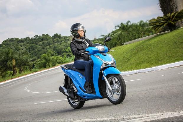 Teste Nova Honda Sh 150i Auto Esporte Testes