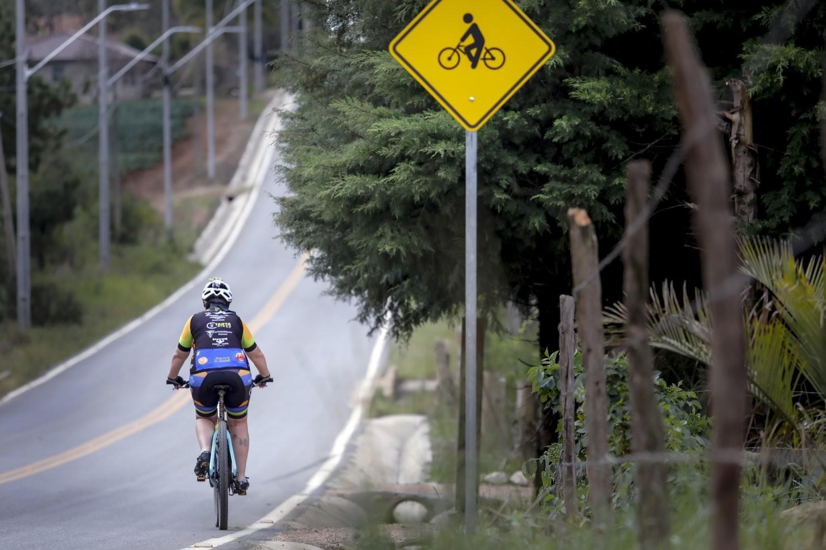 Área rural de Araucária ganhará bicicletário em breve