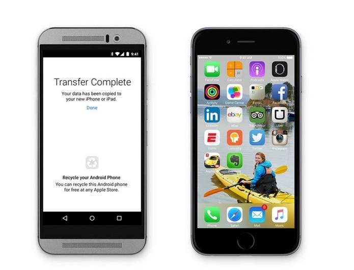 App vai facilitar vida de quem migrar do Android para iOS (Foto: Reprodução/Apple)