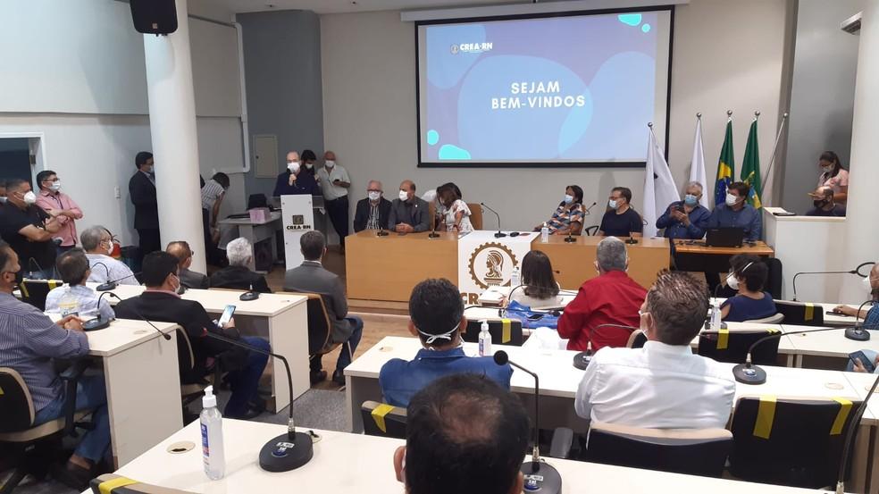 Governo do RN anuncia Plano de Obras para serem executadas até o fim de 2022 — Foto: Sérgio Henrique Santos/Inter TV Cabugi