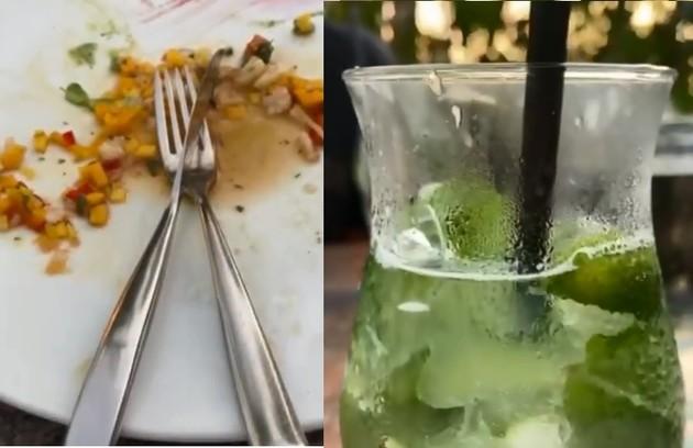 Refeições veganas e limonada: as opções de Xuxa para almoçar (Foto: Reprodução)