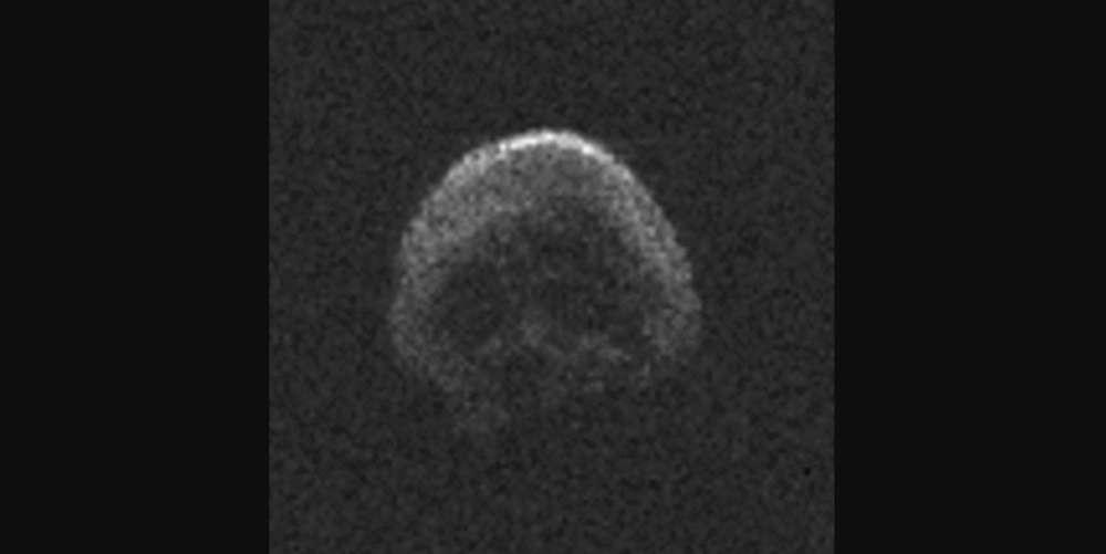 Registro do asteroide 2015 TB145 (Foto: Divulgação)