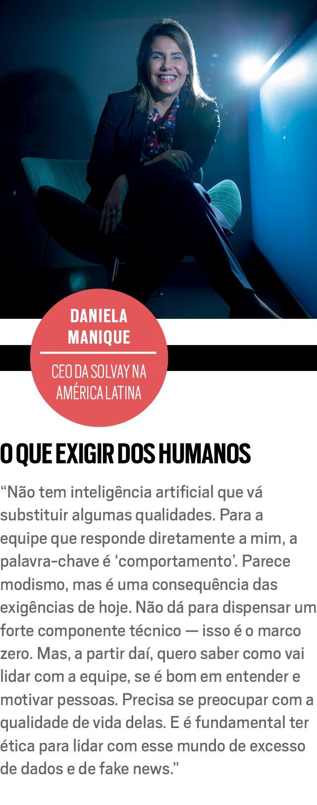 DANIELA MANIQUE, CEO da Solvay na América Latina (Foto: Anna Carolina Negri)