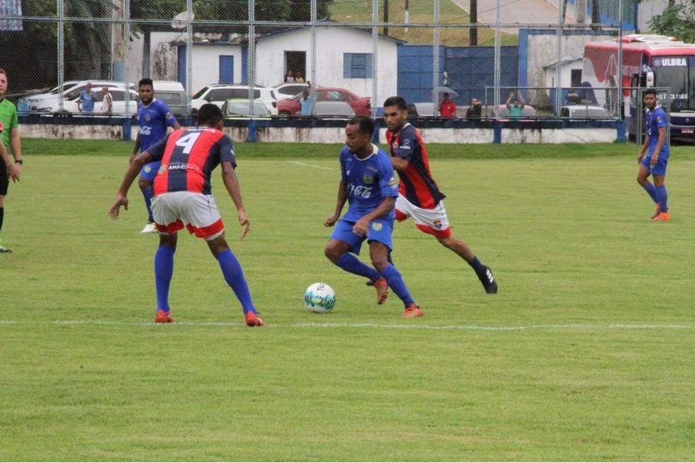 Nacional e Fast Amistoso (Foto: Arleson Siscsu/Nacional FC)