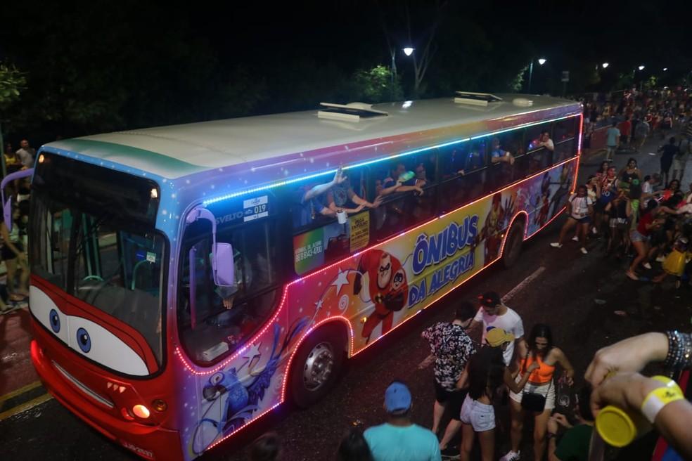 Caminhões decorados desfilam no Corso de Teresina 2019 — Foto: G1 Piauí