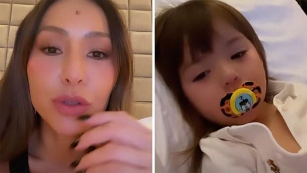 Sabrina Sato falou sobre saúde de Zoe (Foto: Reprodução/Instagram)