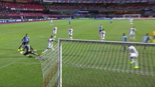 São Paulo 1 x 1 Grêmio: veja os melhores momentos