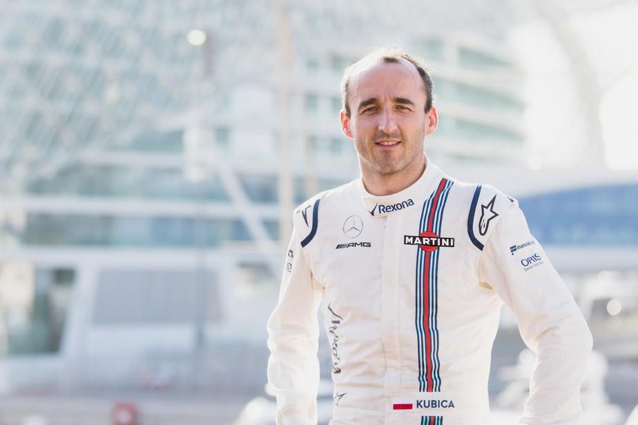 Experiência e sensibilidade basearam escolha de Williams por Kubica para teste