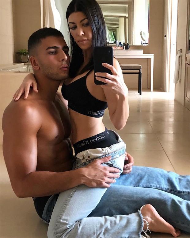 Kourtney Kardashian e Younes Bendjima (Foto: Reprodução/Instagram)