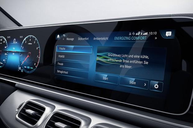 Mercedes Energizing Comfort (Foto: Divulgação)