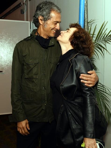 Gisele Fróes e Gustavo Corsi (Foto: Cristina Granato)