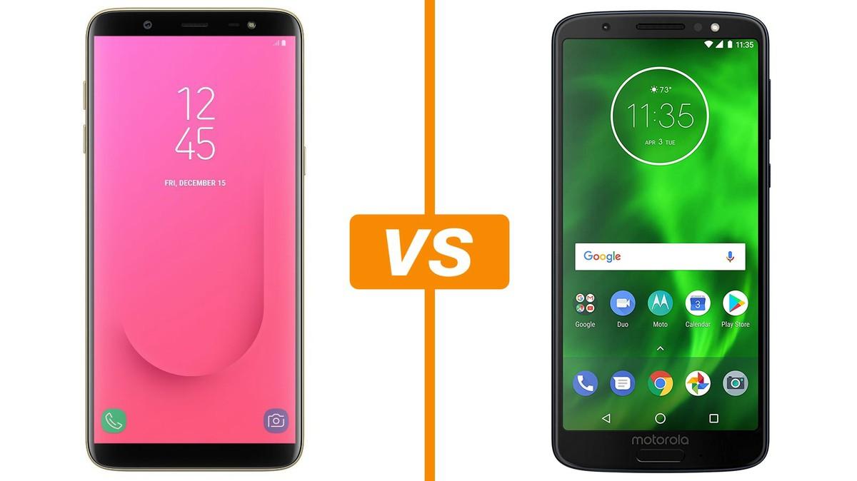 Galaxy J8 vs Moto G6: conheça celulares intermediários com