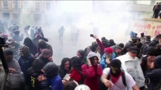 Três pessoas morrem na Colômbia em protestos
