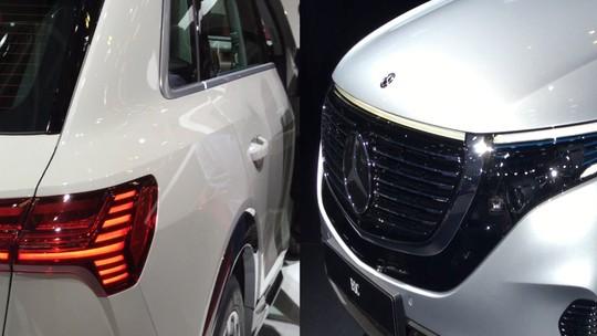 Audi e Mercedes entram na briga dos SUVs elétricos no Salão de Paris